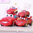 正版小汽車毛絨玩具閃電仿真賽車布娃娃兒童玩偶床上抱枕麥昆男孩 HM 范思蓮恩