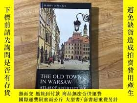 二手書博民逛書店THE罕見OLD TOWN IN WARSAW ATLAS OF