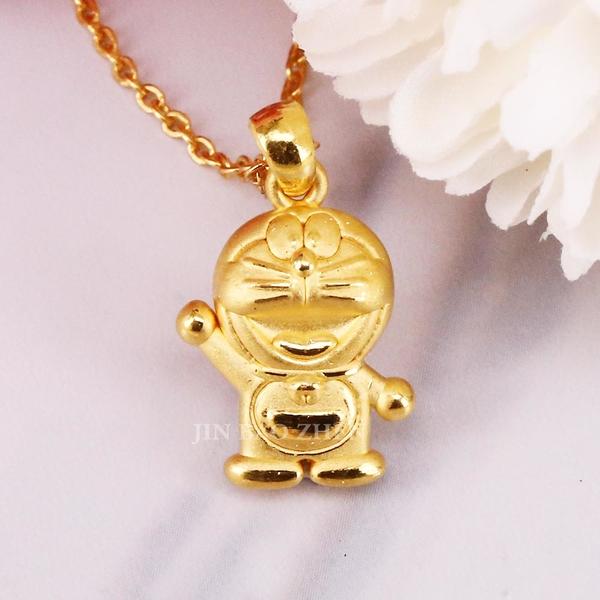 活力滿分-哆啦a夢Doraemon-黃金墜子