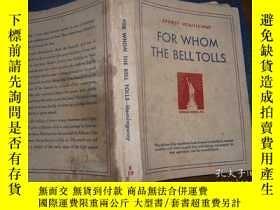 二手書博民逛書店For罕見Whom The Bell TollsY18380 海