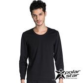 PolarStar 中性圓領排汗保暖衣『黑』P14215 機能衣│保暖衣│排汗│POLARTEC