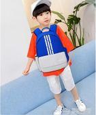 新款小學生旅游書包男女兒童戶外旅行輕便雙肩簡約運動休閒潮背包  夢想生活家