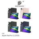 【愛瘋潮】DUX DUCIS Apple iPad Pro 11 (2020) OSOM 筆槽皮套 智能休眠