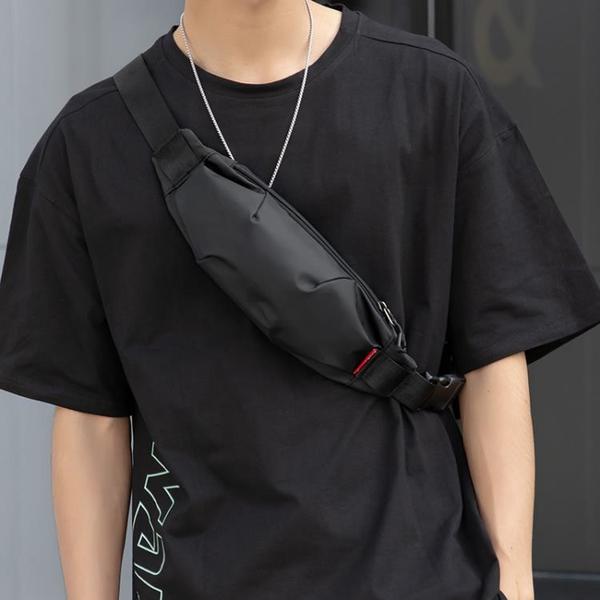 迷你腰包男夏季潮牌側背斜背包小掛包男士潮ins胸包手機包小背包 coco