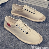 帆布鞋老北京布鞋男夏季透氣布鞋中國風帆布鞋潮鞋韓版潮流百搭休閒男鞋 聖誕節