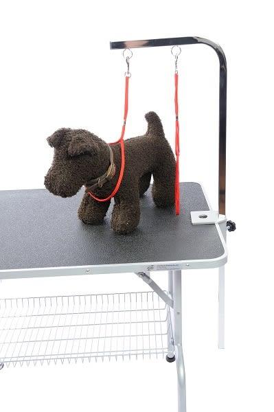 【GOGOSHOWER狗狗笑了】寵物美容桌_L 型雙環吊桿組