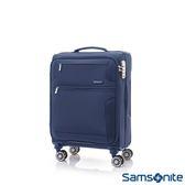 Samsonite新秀麗 20吋Crosslite飛機輪大容量布面TSA登機箱(藍紫色)