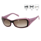 Versace 經典時尚太陽眼鏡 (粉紫色)(無盒)