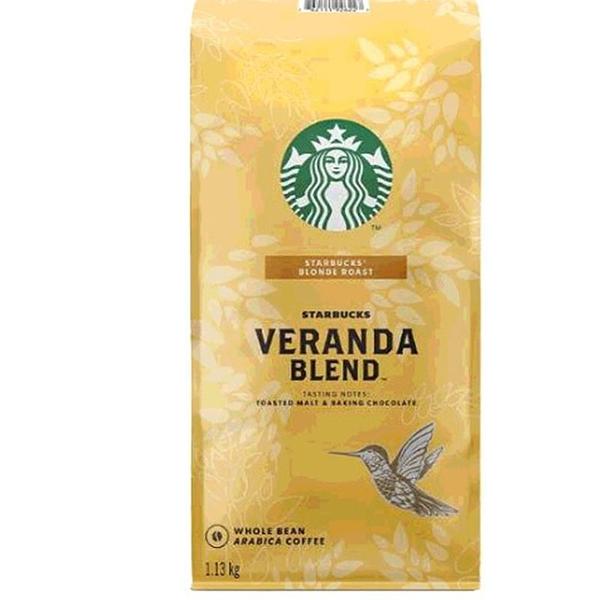 [COSCO代購] W648080 Starbucks Veranda Blend 黃金烘焙綜合咖啡豆 1.13公斤