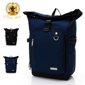 時尚全能防水口袋加大後背包包筆電包 電腦包 NEW STAR BK292