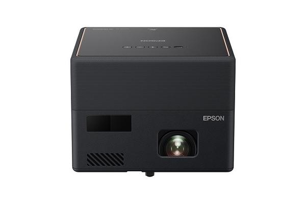 《名展影音》預購約兩個月 EPSON 愛普生 EF-12 迷你無線雷射無線投影機 內建Android TV