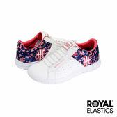 Royal Elastics Zephyr 經典運動鞋-白x藍x粉嫩櫻花