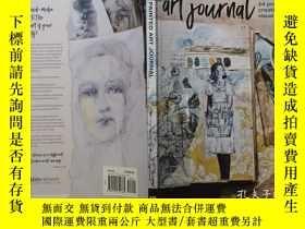 二手書博民逛書店彩繪藝術罕見The painted art journal:24