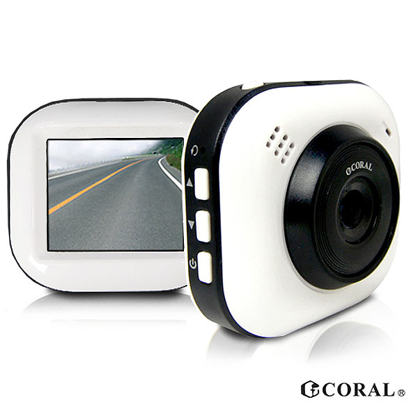 Buy917 【CORAL】 DVR-628 1080P 熊貓眼行車紀錄器 G-Sencor碰撞緊急鎖(送16G記憶卡)