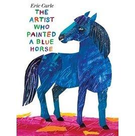 【麥克書店】THE ARTIST WHO PAINTED A BLUE HORSE /英文繪本 《主題:藝術》