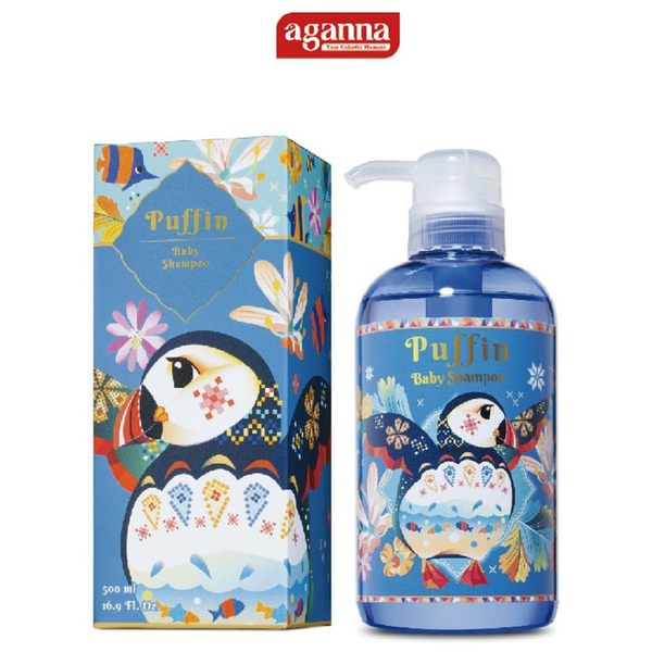 AGANNA 海鸚精油嬰幼兒溫和洗髮精 兒童 洗髮精 藝人推薦 台灣製造 日月星媽咪寶貝館