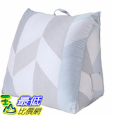 [COSCO代購] W123525 CASA 100%天絲布套三角靠墊 55 x 50 x 60 x 30 公分 - 柏格