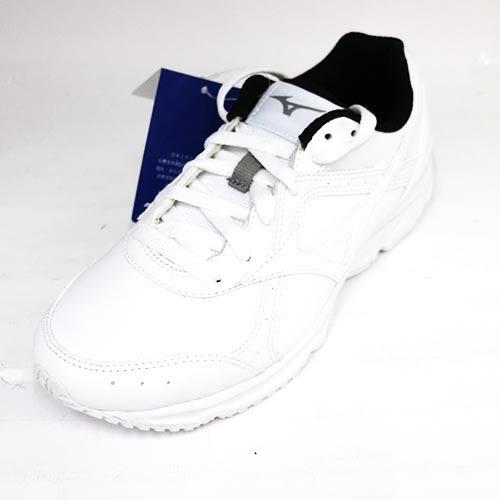 58折!!Mizuno 美津濃 男 學生鞋 皮鞋 網球鞋 G1GC180901 全白[陽光樂活]