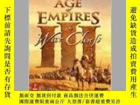 二手書博民逛書店Age罕見of Empires III: The WarChie
