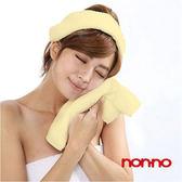 儂儂non-no 最乾淨的毛巾 (加厚款) 黃色 8條/組
