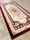 范登伯格 克拉瑪 貴族世家地毯/踏墊/玄關墊-皇宮-紅60x90cm