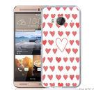 ✿ 3C膜露露 ✿【紅色愛心*立體浮雕硬殼】HTC ONE ME手機殼 手機套 保護套 保護殼