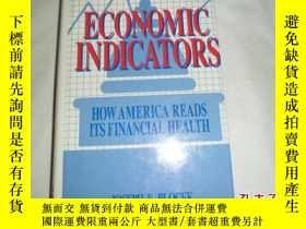 二手書博民逛書店(ECONOMIC罕見INDICATORS HOW AMERICA READS ITS FINACIAL HEAL