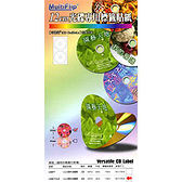 ◆免 ◆印碟通LS301T CLR 光碟圓標貼紙一般多色內徑22mm 一組1 包