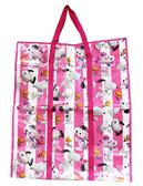 【卡漫城】Snoopy 批貨袋粉紅直式㊣版棉被袋 收納搬家史努比史奴比菲菲貝兒塔克