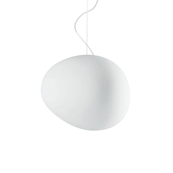 Foscarini Gregg Suspension Lamp in Large 重生 霧白玻璃 吊燈 大尺寸