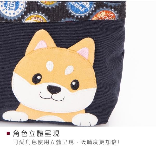 Kiro貓‧柴犬寶寶 鋪棉 拉鍊 手提收納包/化妝包【820178】