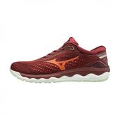 Mizuno Wave Sky 3 [J1GC190257] 男鞋 運動 休閒 慢跑 輕量 避震 彈力 支撐 美津濃 紅