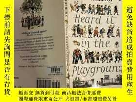 二手書博民逛書店Heard罕見it in the playground 在操場上聽到的Y200392