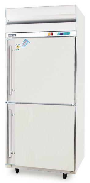 二門式 不銹鋼型 冷凍櫃【風冷無霜冰櫃】型號:TC-288