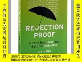 二手書博民逛書店被拒絕的勇氣罕見英文原版書籍 Rejection Proof 蔣