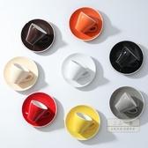 咖啡杯 濃縮咖啡杯意式espresso小號陶瓷杯碟套裝單個迷你特濃杯子咖啡廳-三山一舍