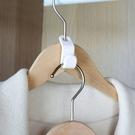 現貨-6個裝衣架連接掛鉤 家用多功能收納神器 強承重節省空間掛鉤【A194】『蕾漫家』