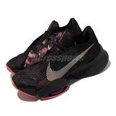 Nike 訓練鞋 Air Zoom SuperRep 2 黑 紅 氣墊 男鞋 健身專用 【ACS】 CU6445-002