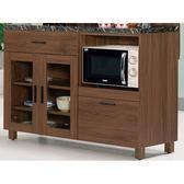 櫥櫃 餐櫃 MK-911-4 米迪亞4尺石面雙門收納櫃下座【大眾家居舘】