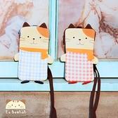 手機袋~雅瑪小舖日系貓咪包 啵啵貓情侶系列手機袋/拼布包包