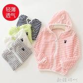 兒童防曬衣服透氣寶寶中大女童嬰兒小孩男童防紫外線夏季外套薄款 歐韓時代