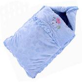 睡袋 款寶寶睡袋嬰兒包被嬰兒加厚睡袋新生兒防踢被純棉 米蘭街頭