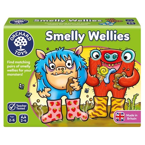 【英國 Orchard Toys】兒童桌遊-配對遊戲 怪獸不搞怪 OT-026