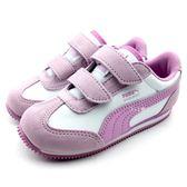 《7+1童鞋》小童 PUMA Whirlwind L V inf 輕量 透氣 運動鞋 8233  紫色