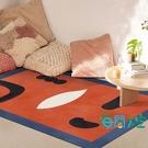 北歐地毯客廳地墊家用抽象臥室床邊毯子【海闊天空】