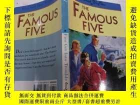 二手書博民逛書店five罕見get into trouble: 五個惹麻煩了Y200392