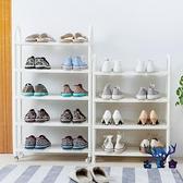 鞋架簡易多層組裝小號鞋架子家用鞋柜收納架個性【古怪舍】