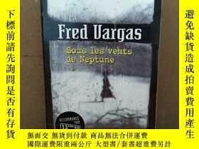二手書博民逛書店Sous罕見Les Vents De Neptune 法文原版)Y269331 Fred Vargas Par