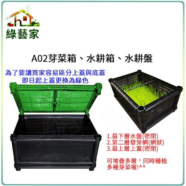 【綠藝家】A02芽菜箱、水耕箱、家庭式多用途芽菜培育箱
