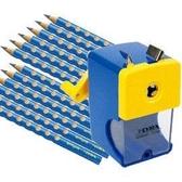 【德國LYRA】三角洞洞鉛筆超值組 @產品內容:三角洞洞鉛筆12入+削鉛筆機 ★加贈:Lyra筆筒